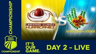 Leewards v Barbados   West Indies Championship - Day 2   Friday 15th March 2019