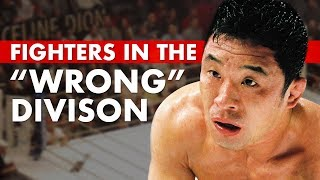 """10 Great Fighters Who Fought in the """"Wrong"""" Weight Class"""