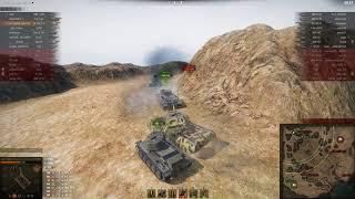 VK 100.01 (P), Эль-Халлуф, Стандартный бой