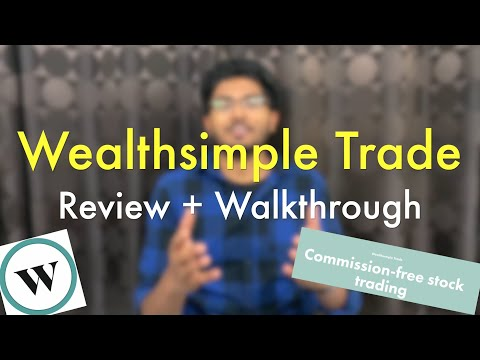 Wealthsimple TRADE Review & Walkthrough  FREE Stock Trading 🇨🇦    Excellent for BEGINNER Investors 🍁