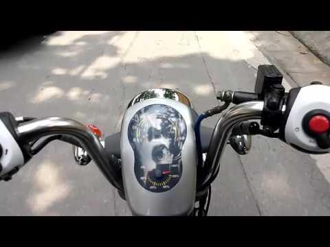 Chạy thử xe đạp điện Nijia maxbike 100km