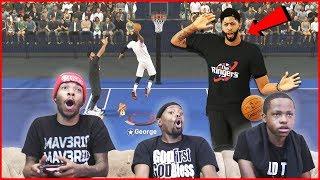 AD & LeBron vs Kawhi & PG! Crazy Play That Left Anthony Davis SHOOK!