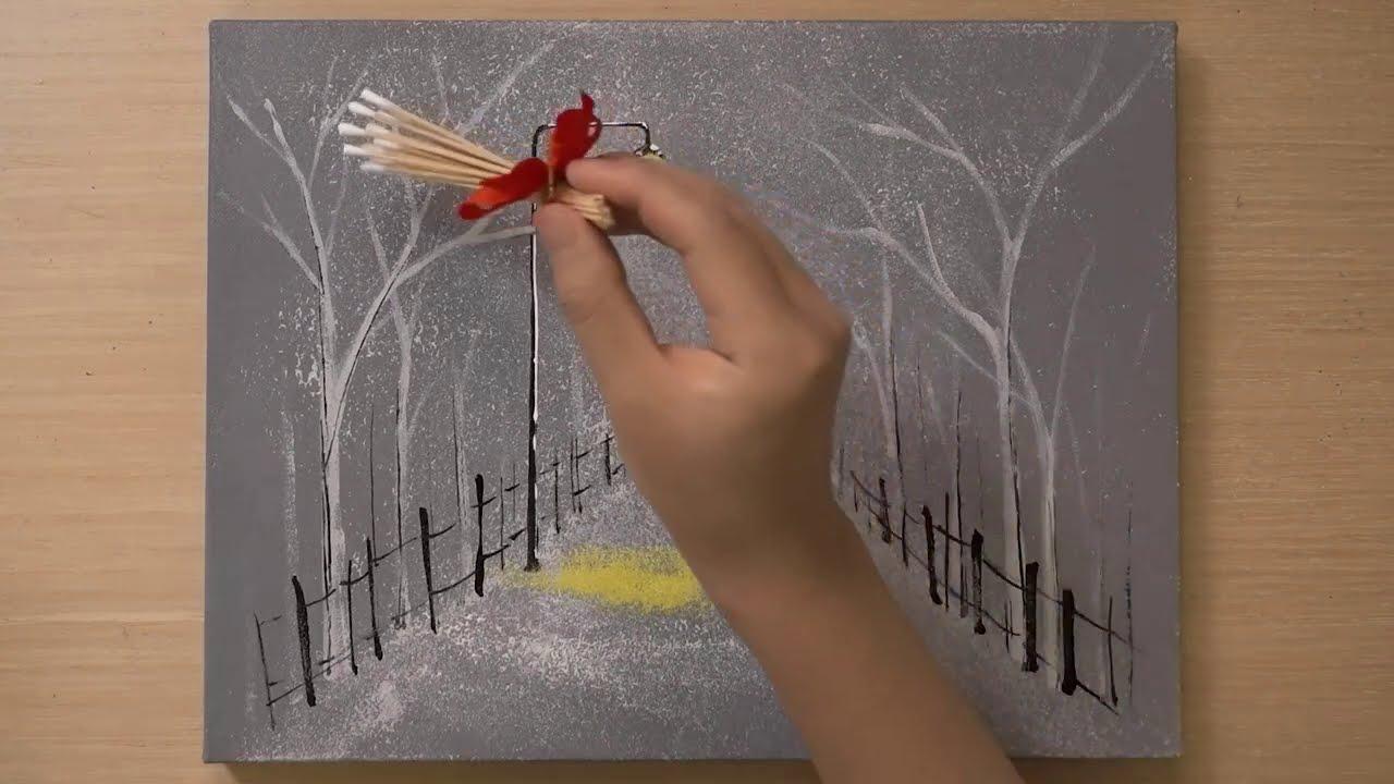 medical swab painting technique using swab by jay lee