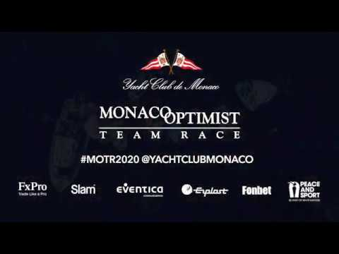 Monaco Optimist Team Race 2020 - Day One