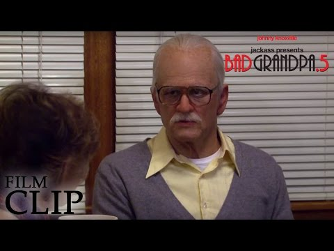 Jackass Presents: Bad Grandpa .5 Jackass Presents: Bad Grandpa .5 (Clip 5 'Funeral Director')
