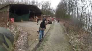 preview picture of video 'Paintball in Preussisch Oldendorf - Battle #6 - 13.01.2013 UNCUT'