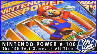Nintendo Power #100: The 100 Best Games of All Time :: Magazine Showcase