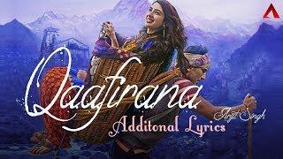Qaafirana - Additional Lyrics   Arijit Singh   Kedarnath   Sushant Rajput   Sara Ali Khan