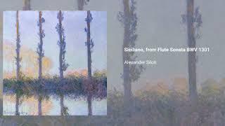 Siciliano, based on BWV 1031
