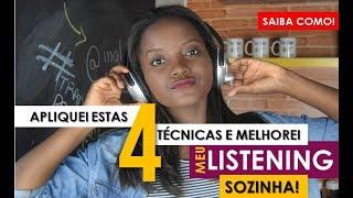 1 VÍDEO 4 PRÁTICAS e seu LISTENING muito melhor! | Pratique sozinho!