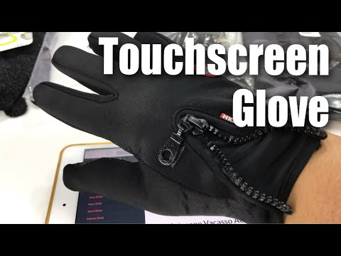 Windproof Winter Capacitive Touchscreen Gloves with Zipper Review