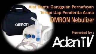 OMRON NE-C801 Nebulizer Alat Bantu Gangguan Pernafasan Terapi Uap Nafas Napas