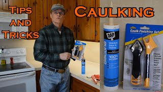 Caulking tips and tricks for a nice finish.
