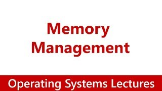 Operating System #05 Memory Management: Process, Fragmentation, Deallocation,