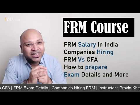 FRM Course Full Details In Hindi   FRM Salary In India and USA ...
