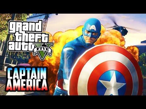 Grand Theft Auto V Walkthrough - GTA 5 Mods - IRON MAN MOD w