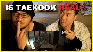 NEW KPOP FAN REACTS TO TAEKOOK SWEET INTERACTIONS FROM BON VOYAGE | BTS Reaction