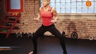 Sarah's Barre Body Part 1: Cardio Barre by Qinetic Live