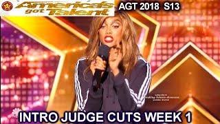 INTRO JUDGE CUTS 1 America's Got Talent 2018 - AGT Season 13 S13E7