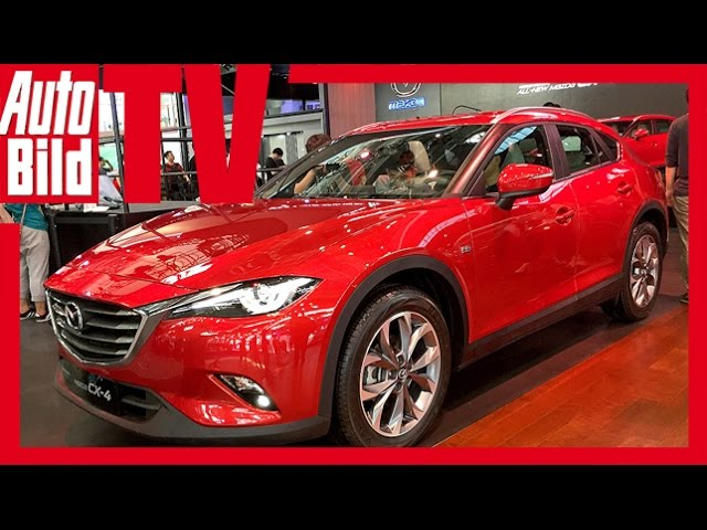 Mazda CX-4 (Auto China 2016) Preview