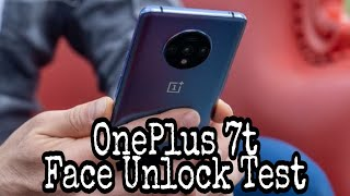 OnePlus 7t First Look and Face Unlock Test