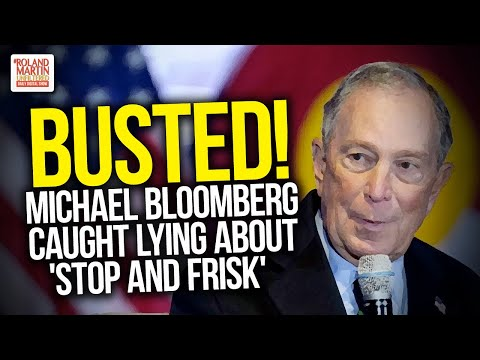 BUSTED! Michael Bloomberg Caught Lying About 'Stop And Frisk'