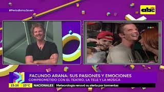 """Facundo Arana: nota y acústico en """"Periodismo Joven"""""""