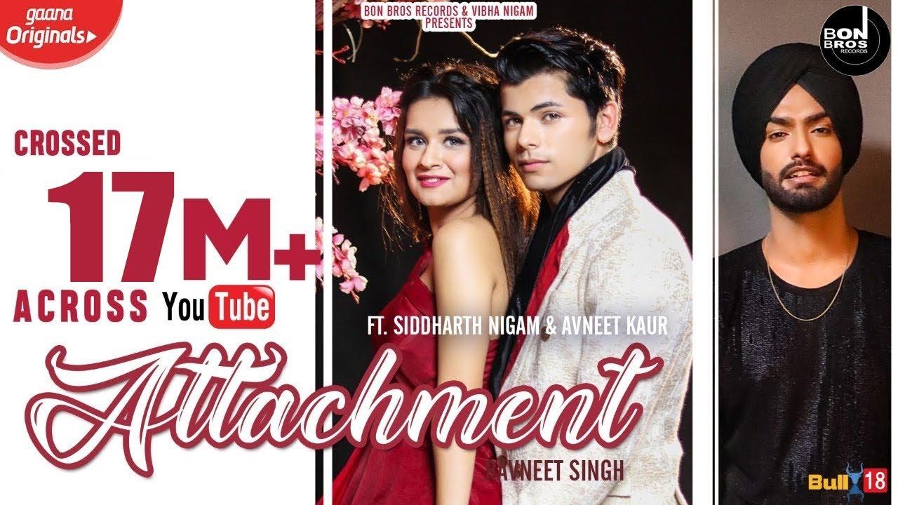 Attachment song Lyrics by Ravneet Singh