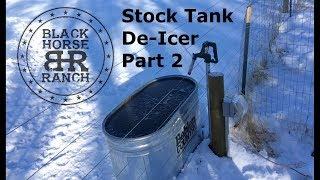 DIY Stock Tank De-Icer Part 2 of 3