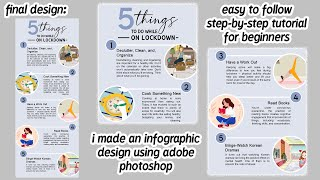 HOW TO MAKE AN INFOGRAPHIC DESIGN USING PHOTOSHOP 2020 (TIPS + FREE INSTALLER OF PHOTOSHOP)