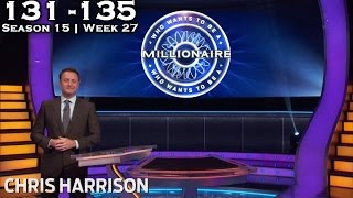 Who Wants To Be A Millionaire? #27 - Season 15 | Episode 131-135 - Video Youtube