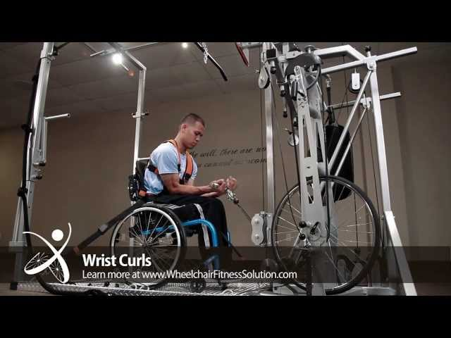 Wheelchair Fitness Solution | Exercise: Wrist Curls (20 of 40)
