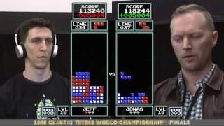 Finals - 2016 Classic Tetris World Championship
