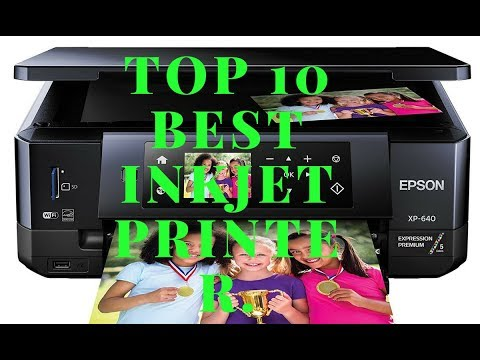 Top 10 Best inkjet printer 2018