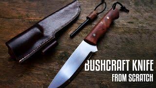 Knife Making - Bushcraft Knife from Scratch