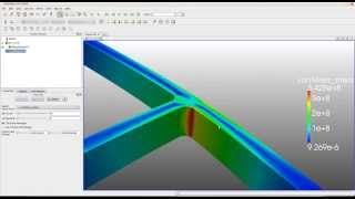 Pipe Junction Flow Simulation - SimScale Tutorial - Most