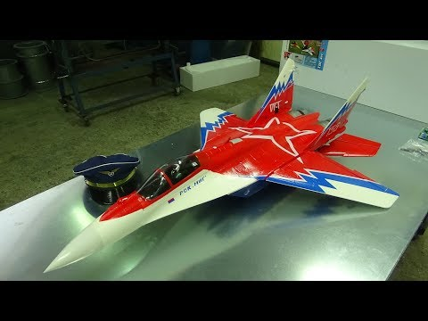 sebart-freewing-mig29-3d-v2-red-star-edf-jet-with-vektor-control-unboxing