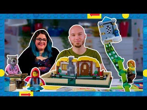 Lego IDEAS 21315 Pop-Up Book (Mesekönyv) Exkluzív Legókülönlegesség, Bontatlan, Új!!!