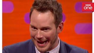 Chris Pratt's leftover steak story - The Graham Norton Show 2016: Episode 9 - BBC