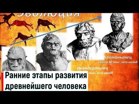 §2. Ранние этапы развития древнейшего человека