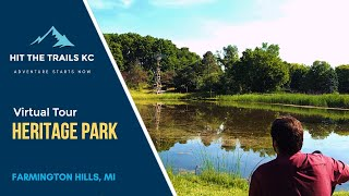 Take a virtual tour of Heritage Park in Farmington Hills, Michigan.