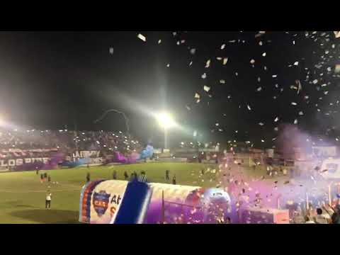 """Club Atlético Güemes vs Achirense - TRA - (final) - RECIBIMIENTO"" Barra: Los Pibes • Club: Güemes"