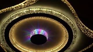 Видео о 8385-500 led (80*2W) (5) люстра