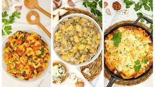 3 Easy Pasta Recipes   Quick & Simple Supermarket Shortcuts