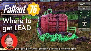 Fallout 76. Where to Get Lead (the Best Junk for Lead and which Public Workshops Have It)