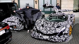 Apparently this is BATMAN's new car!