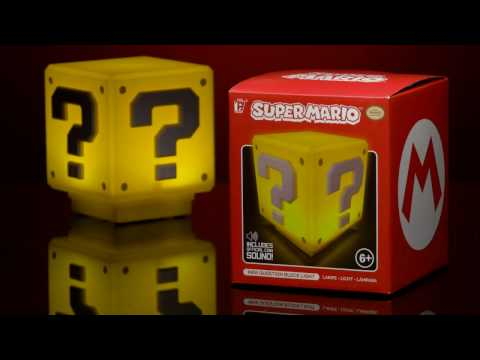 Mini Lampka Super Mario - Question Block
