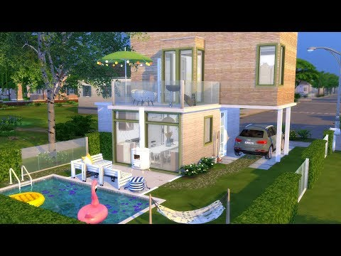 THE SIMS 4: THREE STORY HOUSE // + CC LINKS