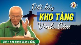 Bán hết của cải để đổi lấy kho tàng nước trời? Cha Phạm Quang Hồng