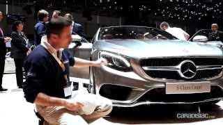 Genève 2014 - Mercedes Classe S Coupé